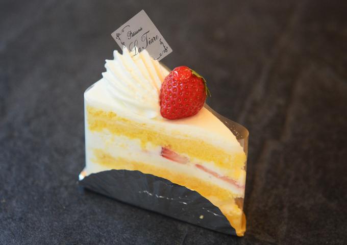 名東区のケーキ屋ラティアールの【ショートケーキ】