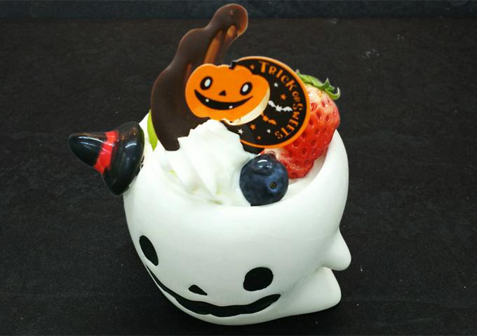 名東区のケーキ屋ラティアールの【かぼちゃのプリンアラモード】